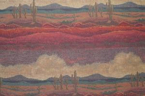 SAGUARO RED SKY  FURNITURE FABRIC RESIDENTIAL