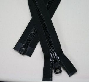 "#10 120"" BLACK D/P SEP ZIPPERS  10/BOX"